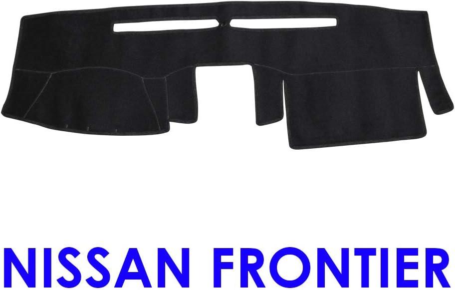 Fit for 2007-2018 Nissan Frontier Black YRCP Anti-Slip Dashboard Covers Custom Dashmat Sun Dash Cover Pad