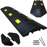 Ultra Light Weight Economy Speed Bump - 1 Piece (3 Feet) - Asphalt