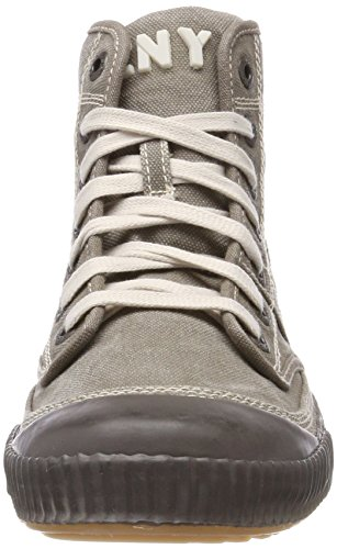 Yellow Cab Herren Ground M Hohe Sneaker Grau (Grey)