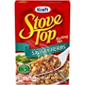 Kraft Stove Top Savory Herbs Stuffing Mix, 6 oz Box