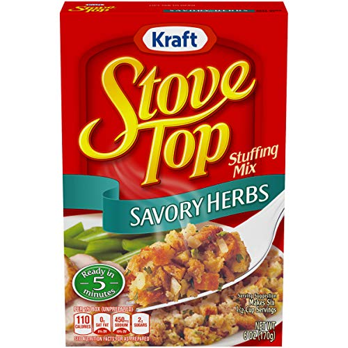 Stove Top Savory Herb Stuffing Mix (6 oz Box) (Stove Top Stuffing Mix)