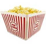 I.Q. Accessories Plastic Popcorn Tub, Square