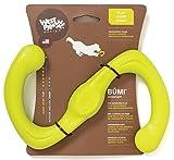 West Paw Design Zogoflex Bumi Guaranteed Tough Tug-o-War Dog Play Toy, Large, Granny Smith