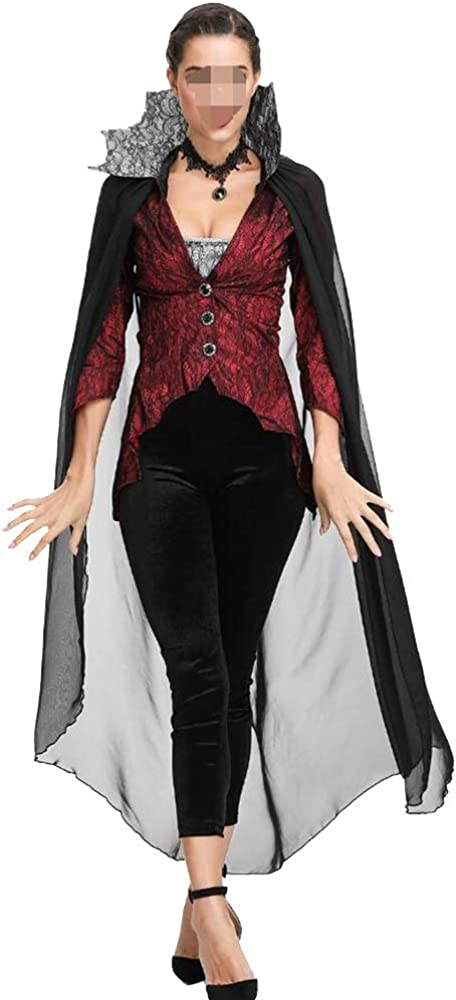 GZQUANEU Disfraz de dama de Halloween Vampire Devil Queen ...