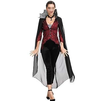 PengShi Disfraz De Halloween For Mujer Vampire Devil Queen Pack ...
