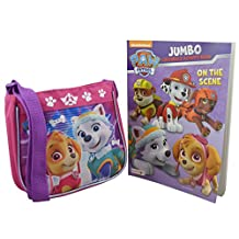Nickelodeon Paw Patrol for Girls 2 Pieces Gift Set Mini Handbag with Coloring Book