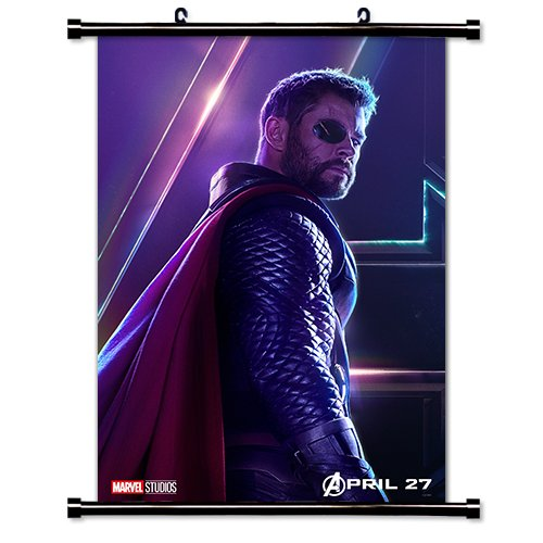 Avengers Infinity War Movie Fabric Wall Scroll Poster  Inche