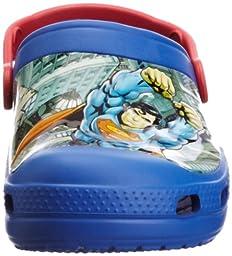 Crocs Kids 14017 Superman Clog (Toddler/Little Kid),Sea Blue/Red,6 M US Toddler