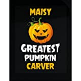 Maisy Greatest Pumpkin Carver Halloween Gift - Sticker