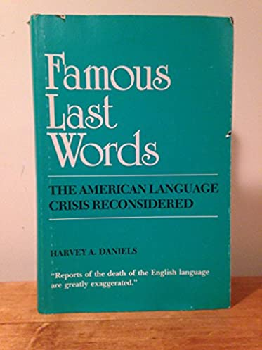 The crisis of the negro intellectual reconsidered ebook index array amazon com famous last words the american language crisis rh amazon com fandeluxe Gallery