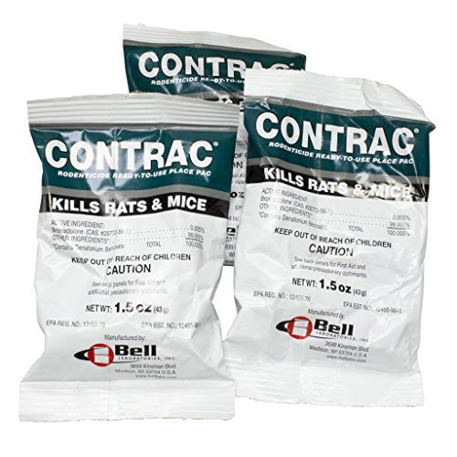 Contrac Rodent Place Packs - 174 x 1.5 oz by DavesPestDefense