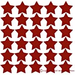 Star Wall Vinyl Stickers for Home Décor 2inch 30pc Peel-n-Stick