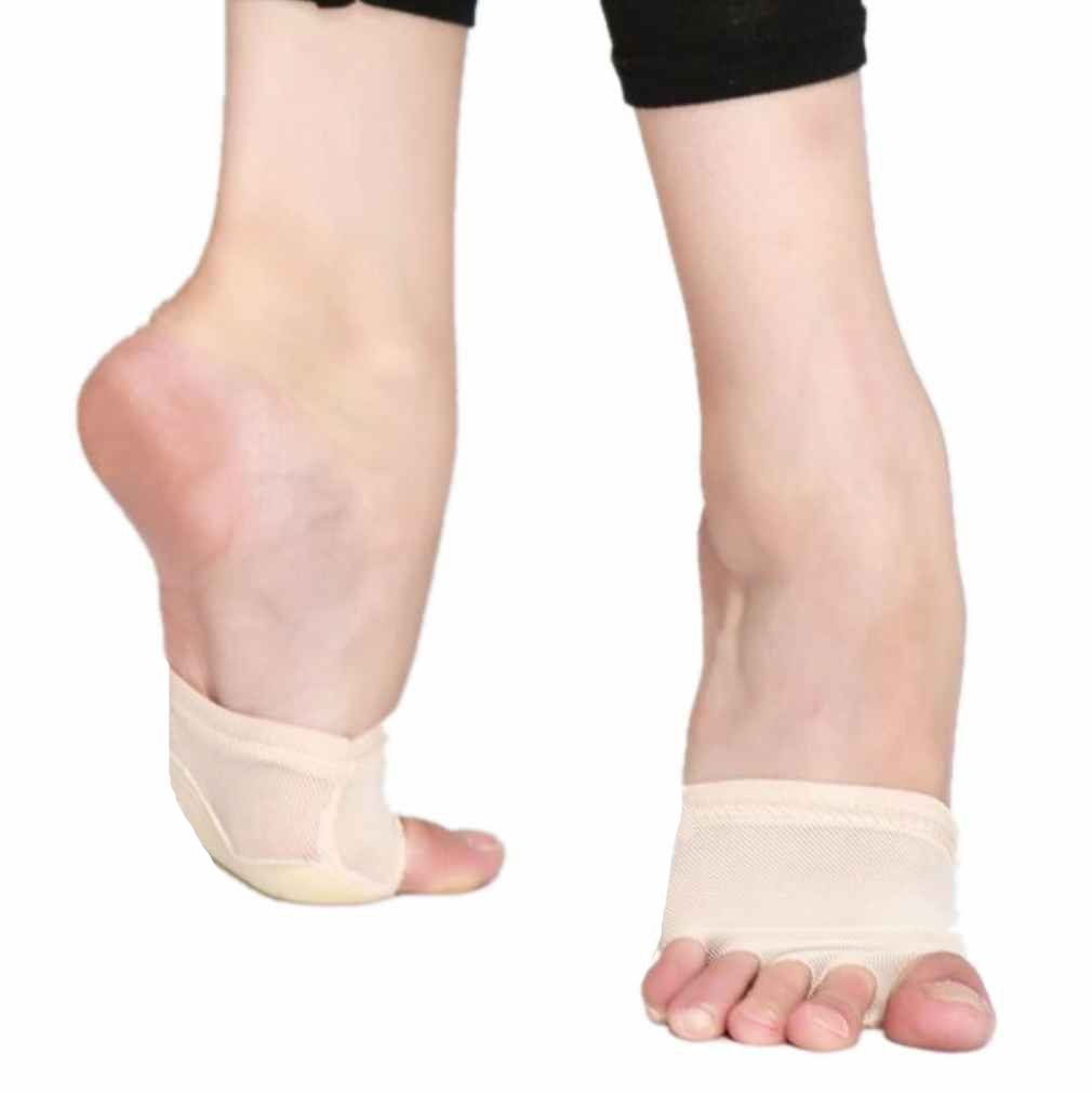 Hip-gift Nude Lyrical Jazz Bare Foot Thong Dance Paw Shoes Fitness Flesh