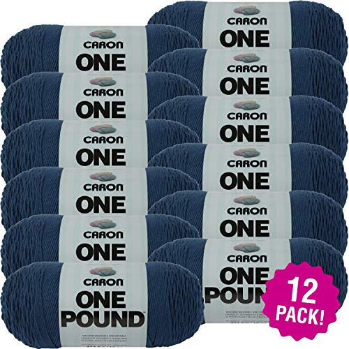 Caron 99550 One Pound Yarn-Ocean, Multipack of 12, Pack by Caron (Image #4)