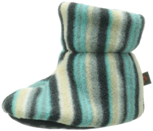 ACORN Easy Bootie (Toddler), Neutral Fun Stripe, TS (0-6 months)