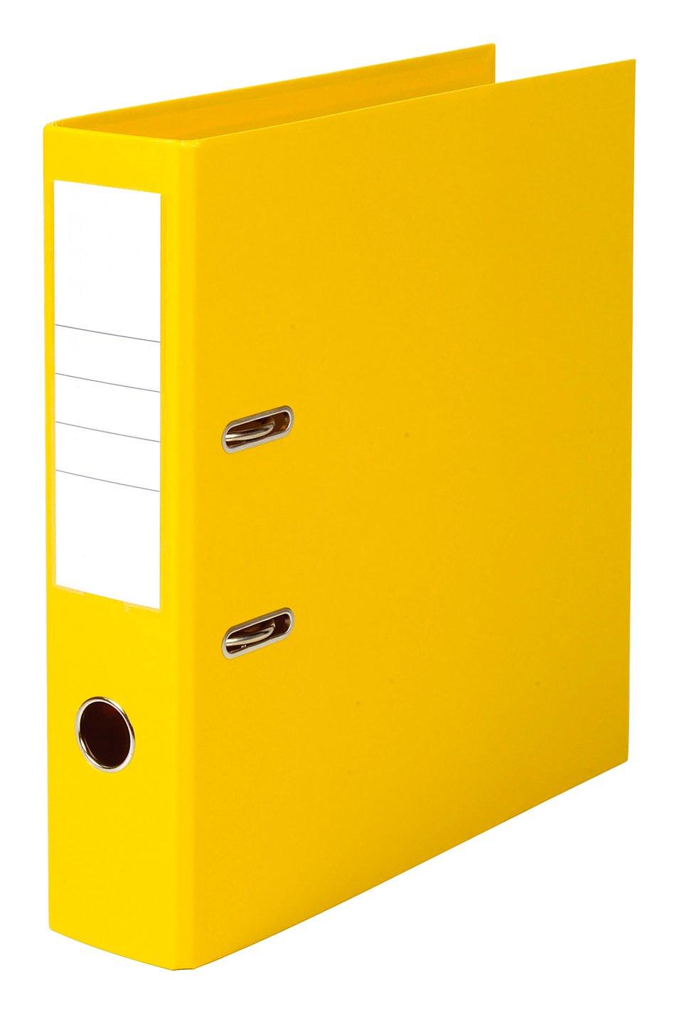 5 Etoiles 100023479 - de Juego de - archivadores de palanca (10 unidades, ancho de 5 cm, polipropileno), color amarillo e1b685