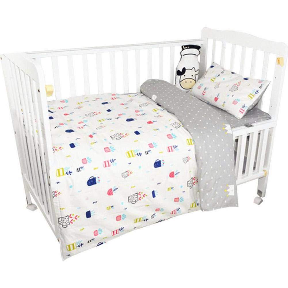 Infant Bedding Newborn Quilt Cover Set Children Cute Cartoon Quilt Cover Baby