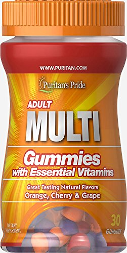 Puritan's Pride Adult Multivitamin Gummy Trial Size-30 Gummies