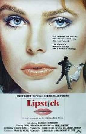 Lipstick Margaux Hemingway Rare 60x40 Original Movie