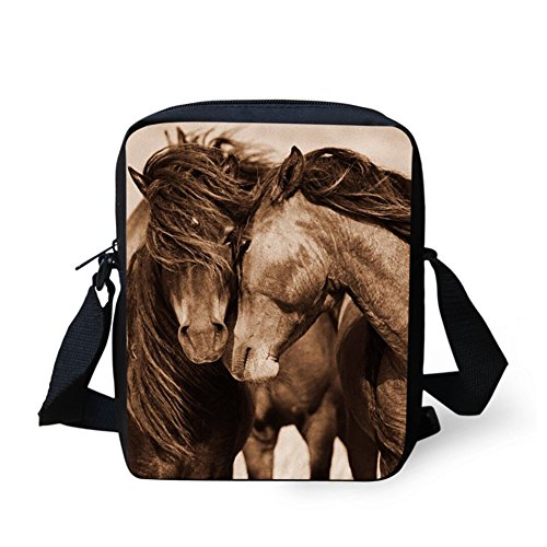 Horse2 Shoulder Mini HUGS Purse Men Messenger Horse IDEA Cell Travel Crossbody Bag Phone Casual Women Handbag fp44RZxn