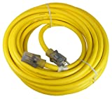 10 3 extension cord - Prime Wire & Cable LT511930 50-Foot 10/3 SJTOW Bulldog Tough Ultra Heavy Duty Extension Cord with Prime Light Indicator Light, Yellow