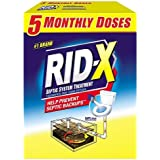 RID-X Septic Tank System Treatment, 5 Month Supply Powder, 49 Ounce by Rid-X