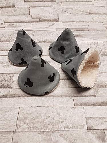 Lot de 4 tipi /à pipipare pipicollection Mickey//Ivoire//cone /à pipi///écologique et r/éutilisables naissance cadeaux b/éb/é T32