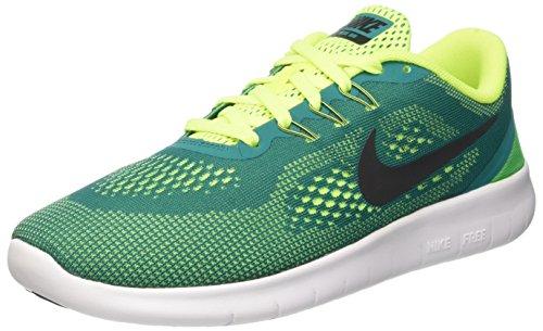 - Nike Grade-School Free RN Rio Teal/Black-Volt-White 833989-300 Shoe 5Y M US Youth