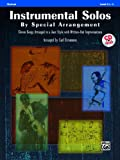 Instrumental Solos by Special Arrangement (11 Songs Arranged in Jazz Styles with Written-Out Improvisations), Alfred Publishing Staff, 0739061593