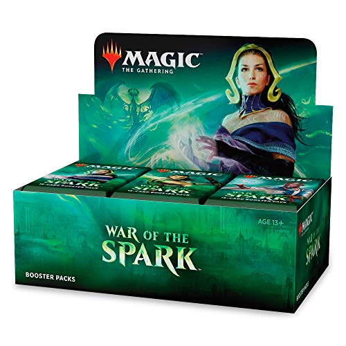 Magic: The Gathering War of The Spark Booster Box | 36 Booster Packs | Planeswalker in Every - Mtg Ravnica Magic