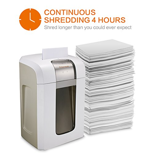 Bonsaii EverShred Pro 5S30 Micro-Cut Paper/CD/Credit Card Shredder