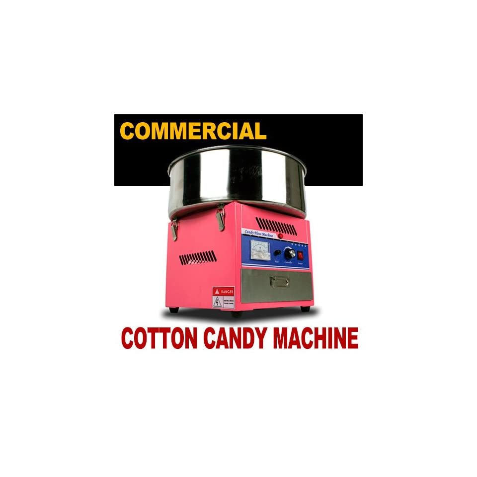 New MTN Commercial Electric Cotton Candy Machine Floss Maker Party Store Booth