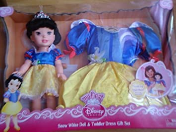 Disney My First Princess Snow White Doll /&Toddler Dress Gift Set /& Dress Costume