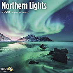 Image of the product 2020 Northern Lights Wall that is listed on the catalogue brand of Bright Day Calendars.