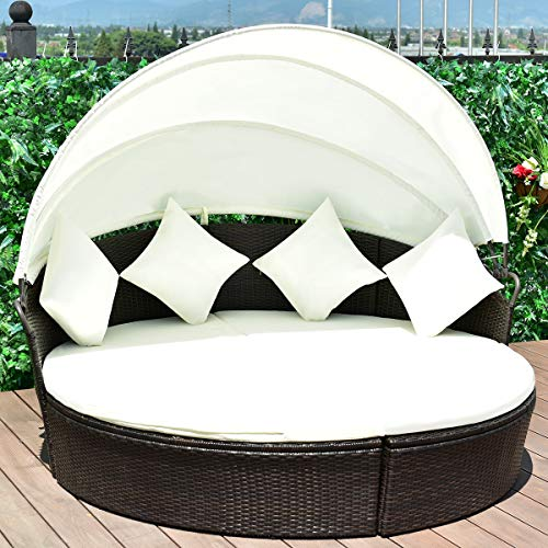 wicker outdoor daybed - 7