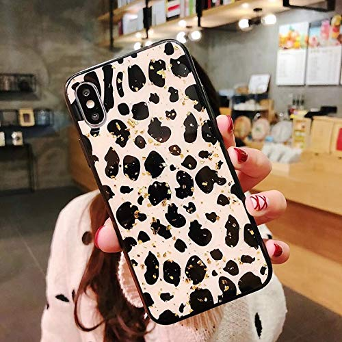 Fitted Cases - Phone Case For Iphone 6 6s 7 8 Plus X Xr Xs Max Luxury Glitter Bling Foil Leopard Print Hard Pc For Iphone X Phone Case - For iPhone 8 Plus_T3 - Armband Holographic Colors