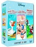 Contes et légendes : les trois petits cochons, Mickey et le haricot magique, le vilain petit canard