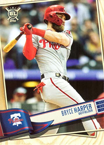 2019 Topps Big League #320 Bryce Harper Philadelphia Phillies Baseball Card