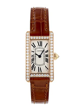 cheap for discount 29ca2 42d63 Amazon | [カルティエ] 腕時計 CARTIER WB707931 タンク ...