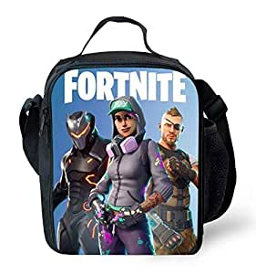 FORTNITE Lunch bag Sack lunch Outdoor Picnic Campus Student Children lunch tote Handbag