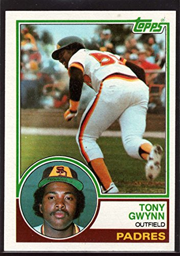 1983 Topps #482 Tony Gwynn UER NM-MT RC Rookie Card Padres 1983 Tony Gwynn Rookie Card