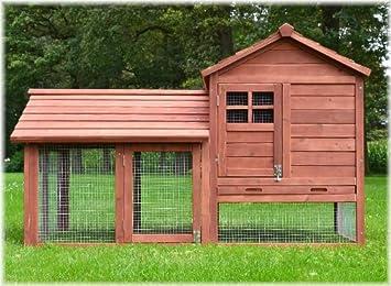 c659bbc9b4492d Zooprimus Cage Clapier Enclos lapin Extérieur en bois de pin Haute Qualité  pour lapins petits animaux