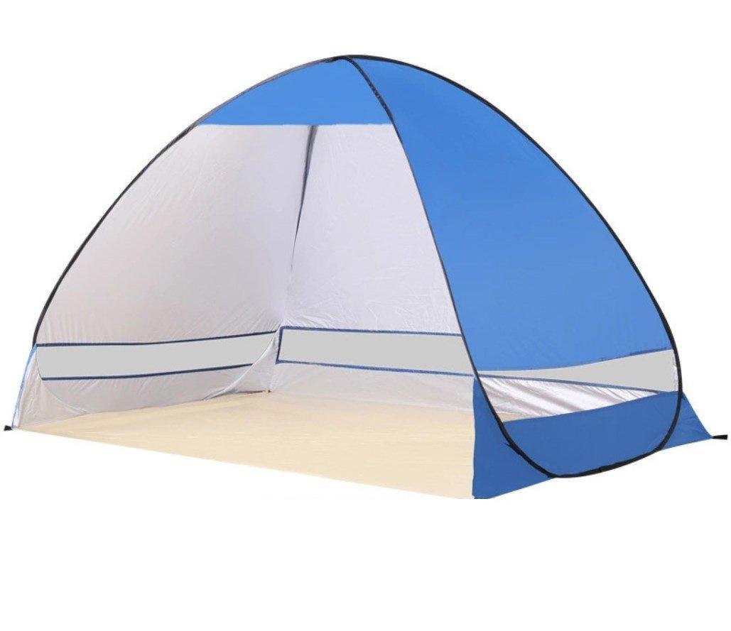 ZHANGP Zelt-Strand-Zelt automatisch Geöffnetes faltendes Doppeltes Fischen-ZXCV im Freien