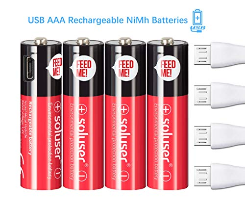 Aa Rechargeable Batteries Usb