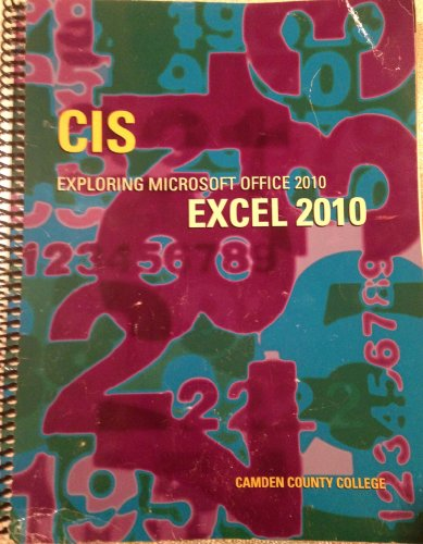 CIS EXPLOR.MS.OFFICE 2010 EXCE
