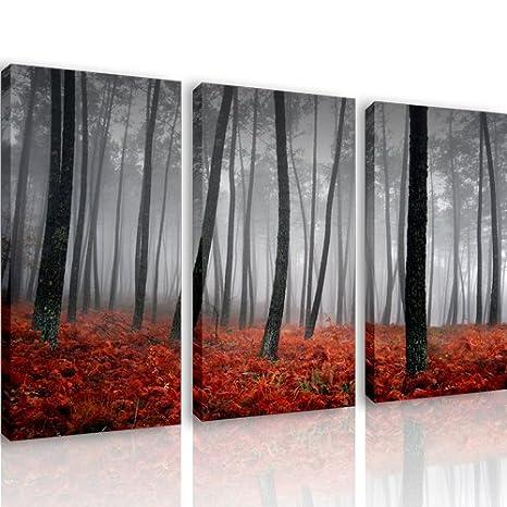 S11 - NATURE - 3 quadri moderni 120x80 cm - Stampa digitale su tela ...