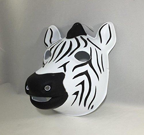FixtureDisplays Handsome Zebra Mask Costume for Adult and Child 15683! by FixtureDisplays