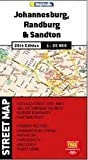 Street map: Johannesburg, Randburg & Sandton 1:25K MapStudio (South Africa)