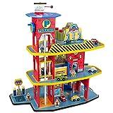 kids car wash set - KidKraft Deluxe Garage Set