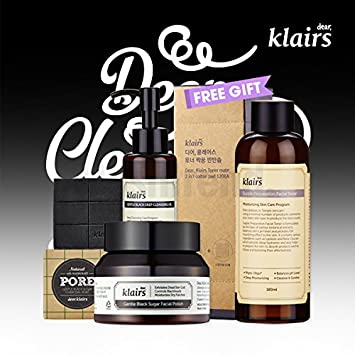 KLAIRS Deep Cleansing Package, 5 products in a set, Deep cleansing without irritation, Suitable for sensitive skin